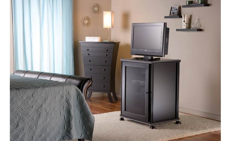 Salamander Designs Synergy Model 303 Black with black frame (TV and components not included)
