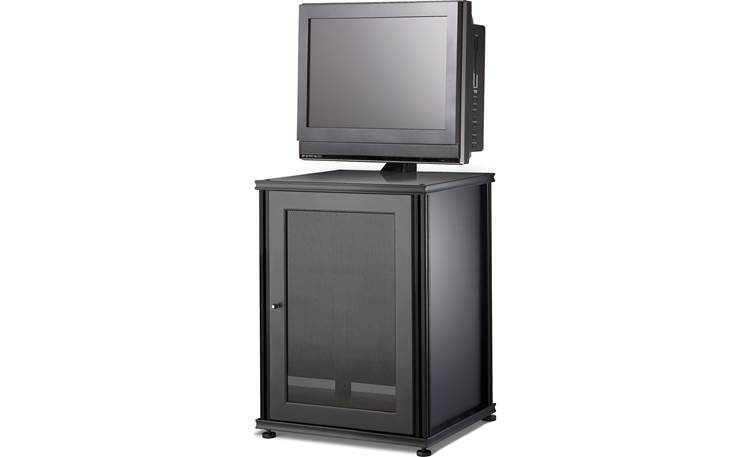 Salamander Designs Synergy Model 303 Black with black frame - supports a TV up to 40