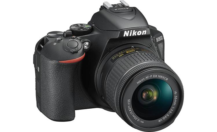 Nikon D5600 Two Lens Kit Angled front view