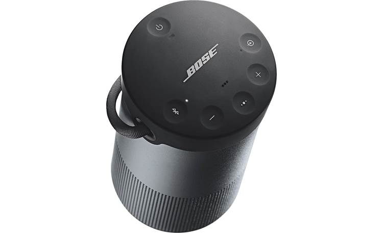 Bose® SoundLink® Revolve+ <em>Bluetooth®</em> speaker Triple Black - top-mounted indented control buttons