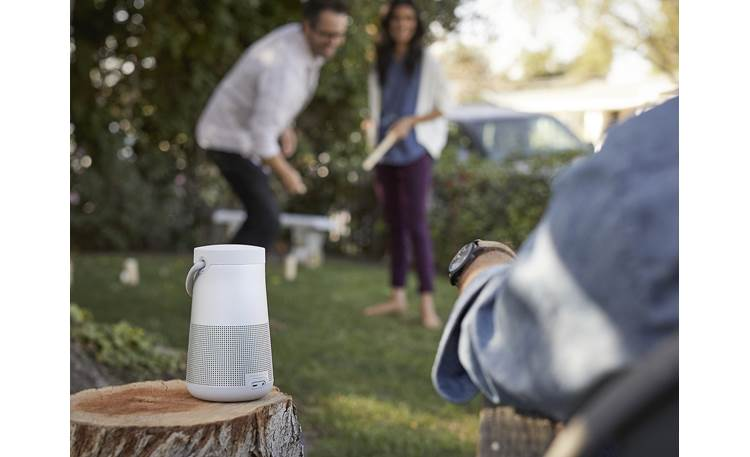 Bose® SoundLink® Revolve+ <em>Bluetooth®</em> speaker Lux Gray - ideal for outdoor use