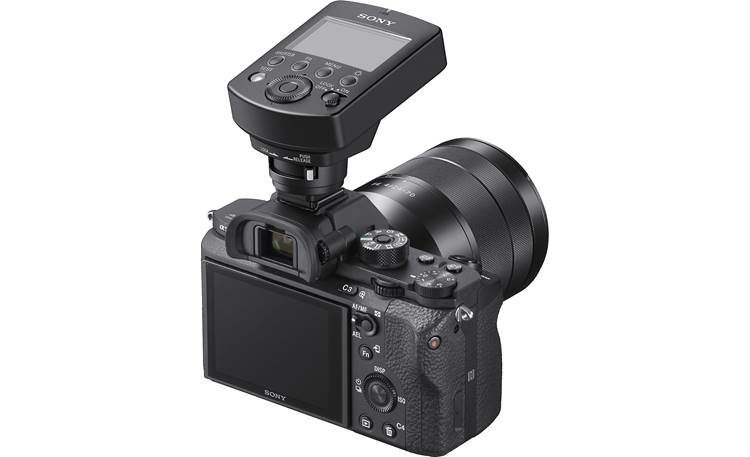 Sony FA-WRC1M Shown mounted to Sony E-mount camera (camera not included)