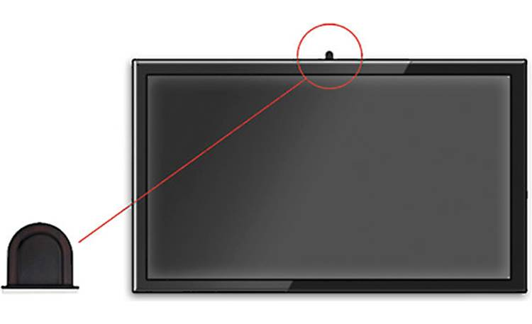 Metra Helios AS-IRKIT The included IR receiver mounts seamlessly to modern TV bezels