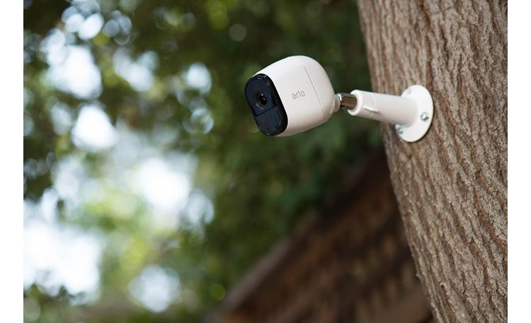 Arlo Pro Home Security Camera System Included hardware gives you plenty of mounting options