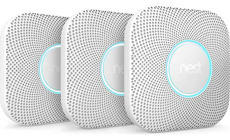 Google Nest Protect 3-pack (2nd Generation) Front