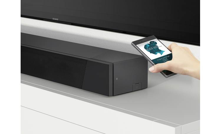 Sony HT-ST5000 Play music wirelessly via Chromecast built-in, Spotify Connect, or Bluetooth
