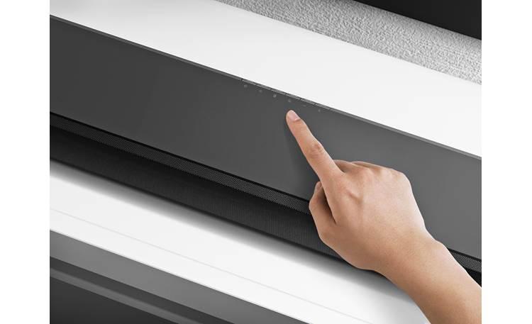 Sony HT-ST5000 Discreet touch-sensitive conrols