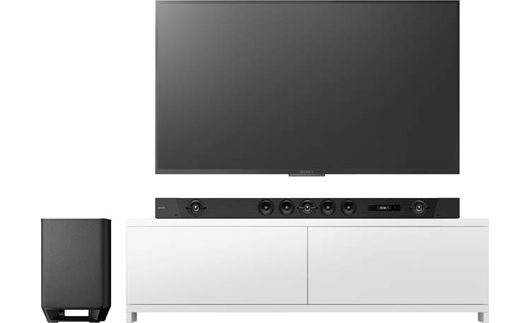Sony HT-ST5000 Wireless subwoofer offers big bass and flexible placement