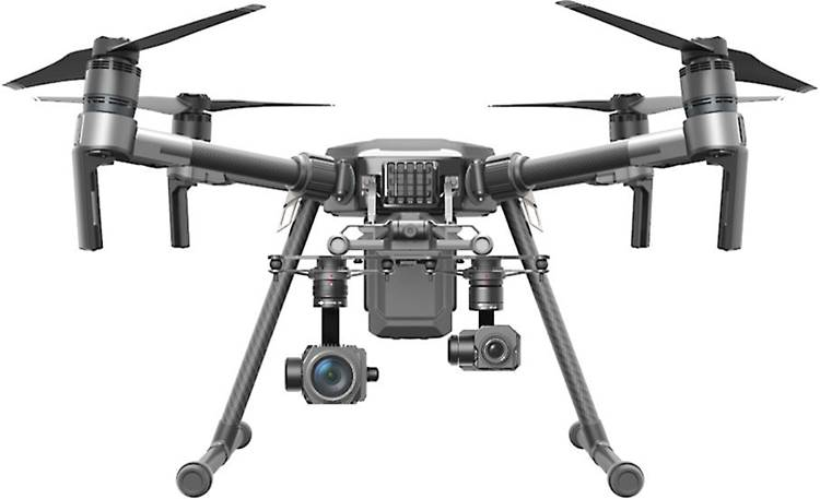DJI Matrice 210 Dual downward gimbal configuration (cameras not included)