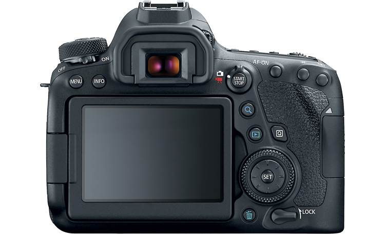 Canon EOS 6D Mark II (no lens included) Back
