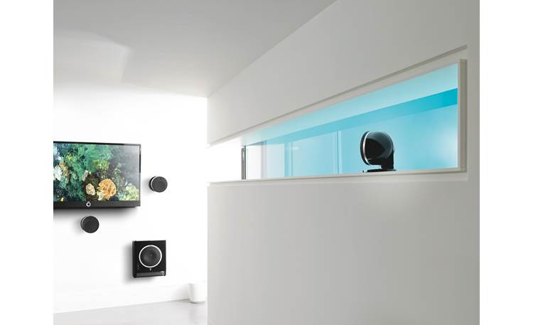 Focal Sub Air This wireless subwoofer has a shallow, wall-mountable design
