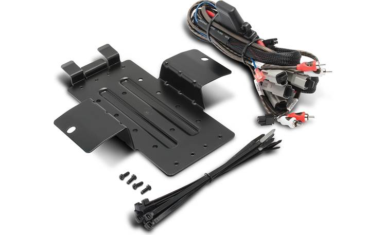 Rockford Fosgate RFYXZ-K8 amp kit and mounting plate