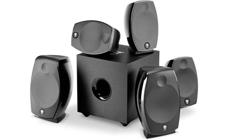 Focal Sib Evo Dolby Atmos® 5.1.2 Group shot of system