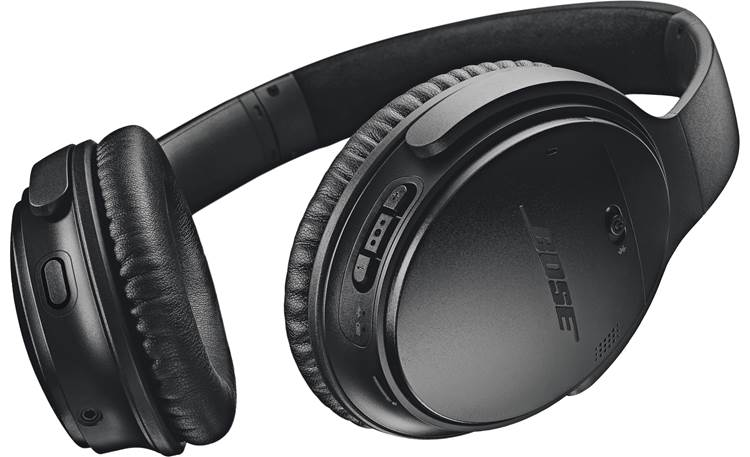 Bose® QuietComfort® 35 wireless headphones II Dedicated Google Assistant button on left earcup