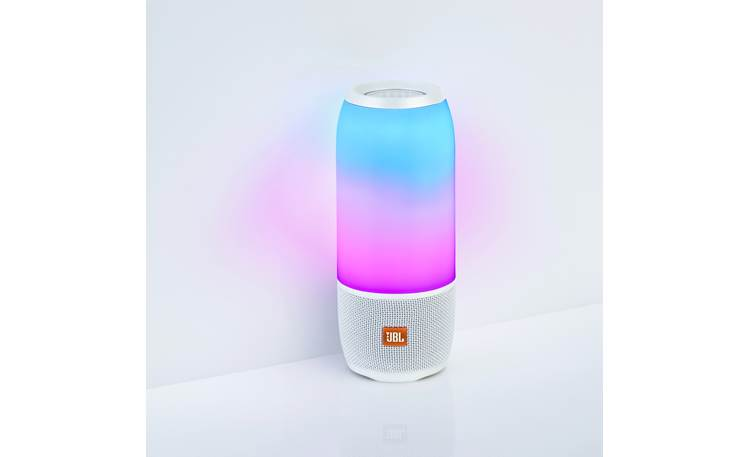 JBL Pulse 3 White - customizable colors and patterns
