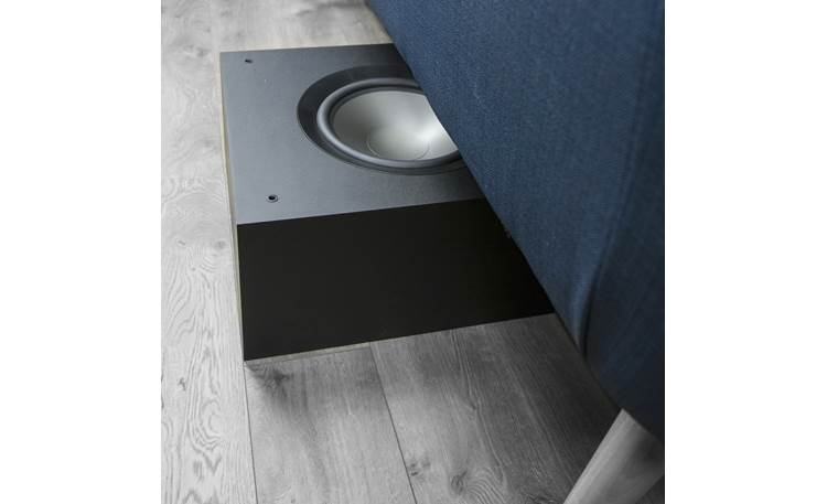 Jamo S 810 SUB Slim profile means you can hide it under your couch