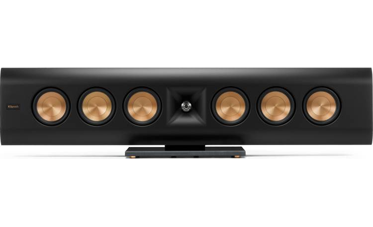 Klipsch Reference Premiere RP-640D Direct front view, horizontal, on base (grille off)