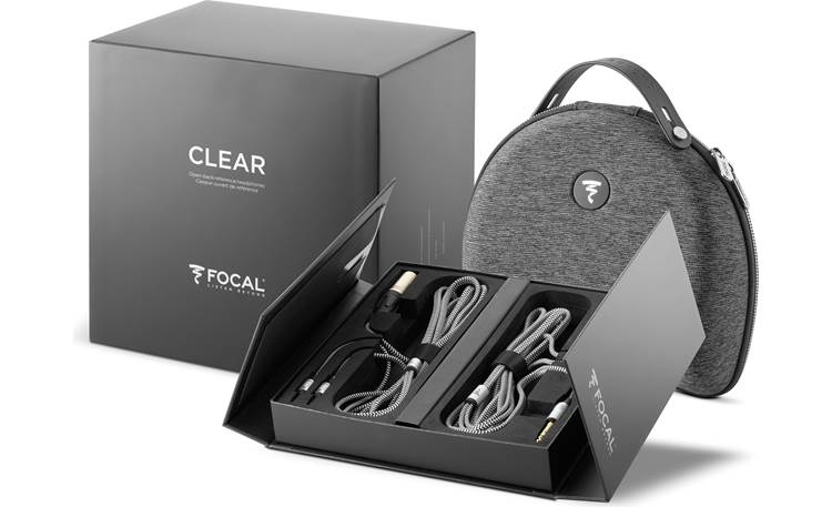 Focal Clear Neatly packed