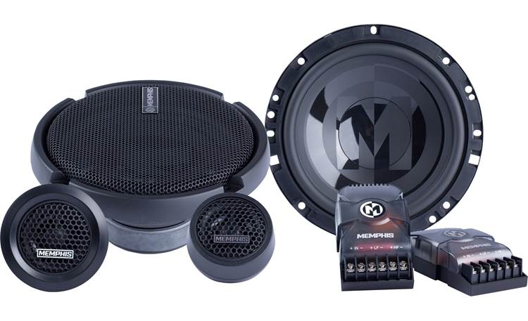 Memphis Audio PRX60C Memphis Audio's PRX60C component system lets you take full advantage of your 6-3/4