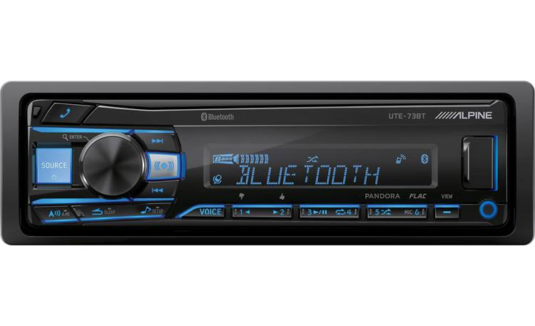 Alpine UTE-73BT Add Bluetooth to your dash for streaming music and hands-free calling