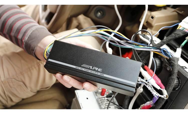 Alpine Ktp 445u Power Pack Compact 4, Alpine Ktp-445u Wiring Harness