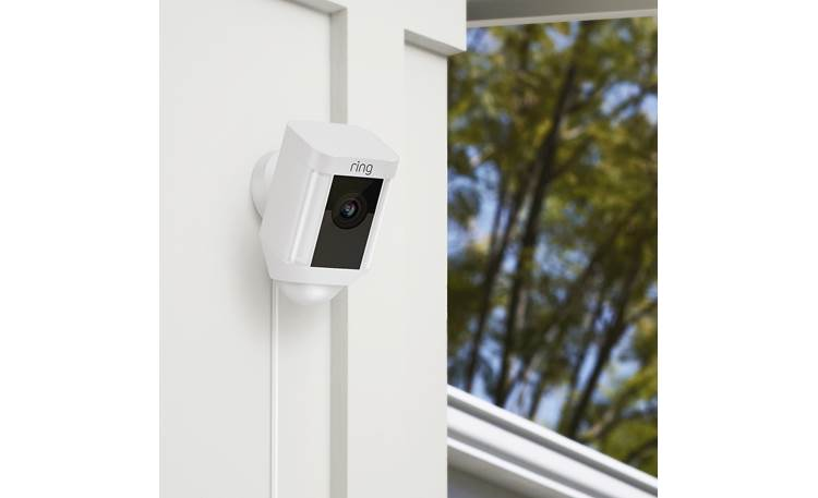 Ring Spotlight Cam Wired Optimal mounting height for detecting human motion is 9 feet