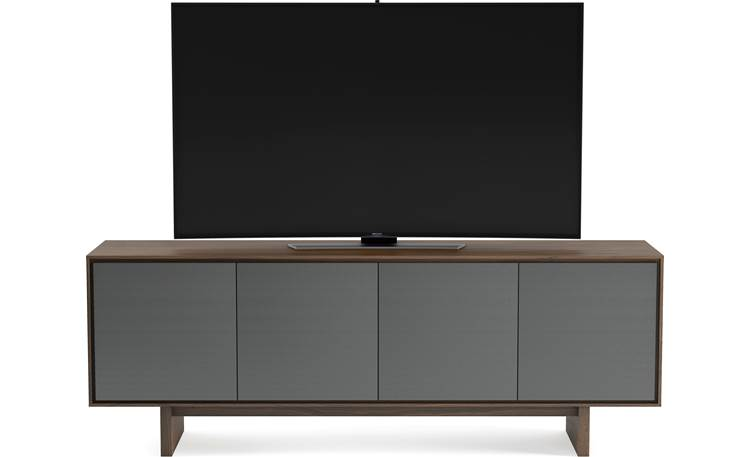 BDI Octave™ 8379GFL Toasted Walnut - front (TV not included)