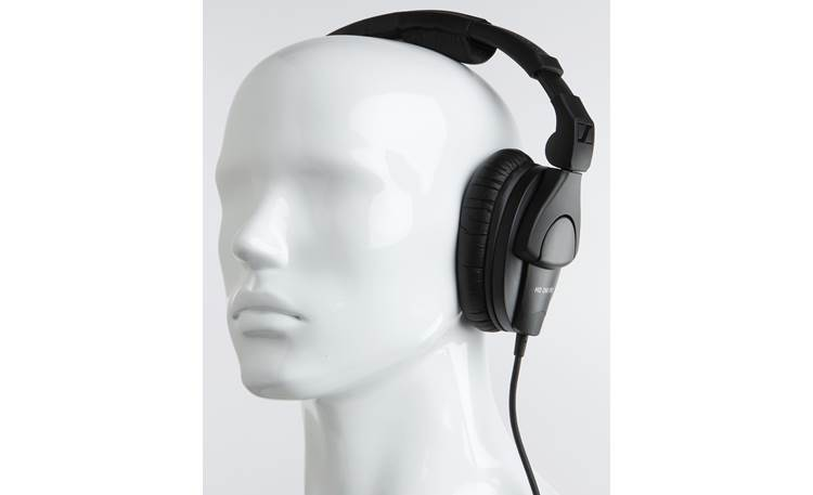 Sennheiser HD 280 Pro Mannequin shown for fit and scale