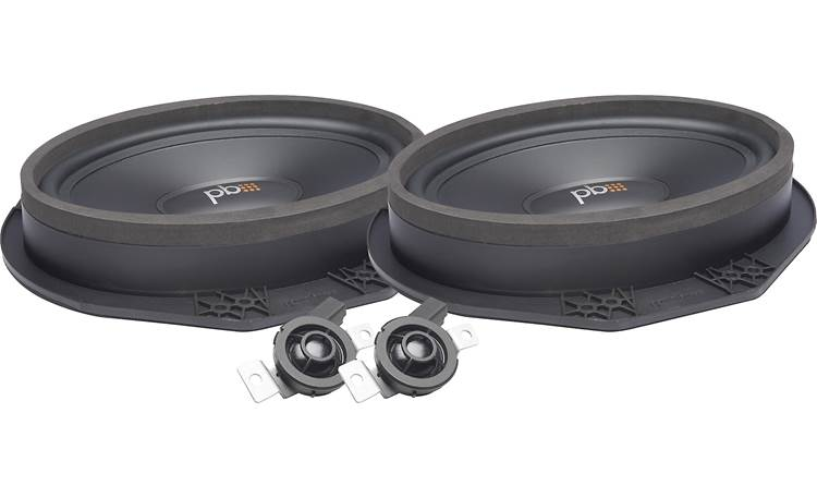 PowerBass OE69C-FD Use our Outfit My Car tool to ensure these are the right speakers for your Ford or Lincoln.