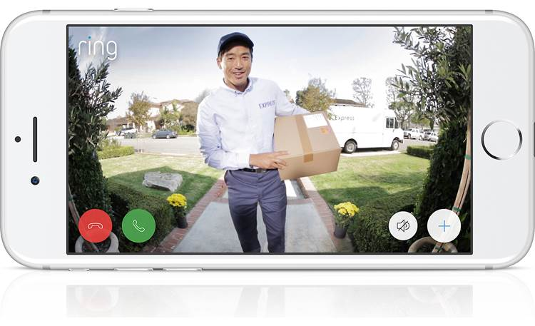 Ring Video Doorbell Get notified when your package arrives