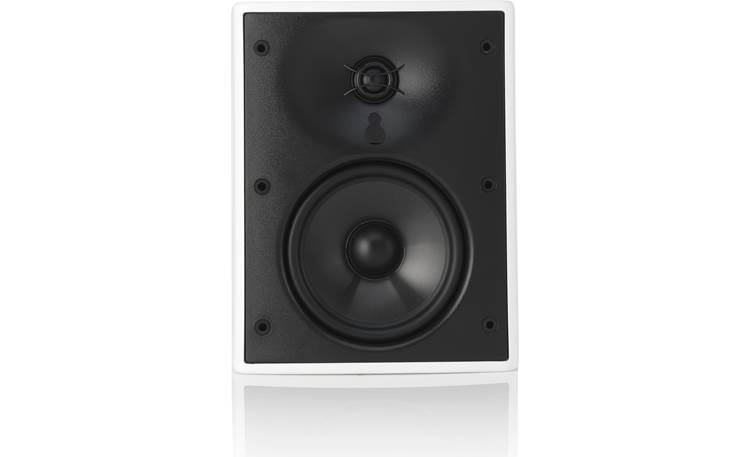 "Revel M55XC 5-1/4"" carbon-infused poly cone woofer and 1"" aluminum dome tweeter"