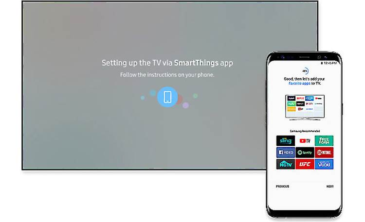 Samsung UN32N5300 Can be controlled via the SmartThings app