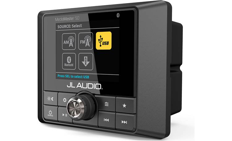 JL Audio MediaMaster 50 marine digital media receiver