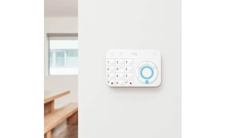 Ring Alarm Keypad Add a second keypad upstairs or by the back door for added convenience