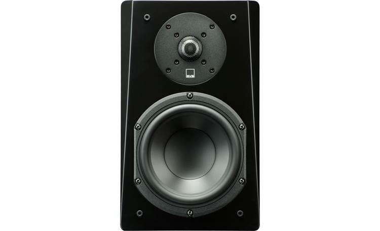 SVS Prime 5.0 Home Theater Speaker System Front view, bookshelf speaker, shown without grille
