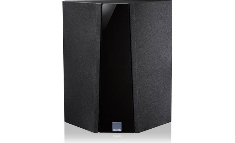 SVS Ultra Bookshelf 5.0 Home Theater Speaker System Ultra surround speaker, shown with removable grilles