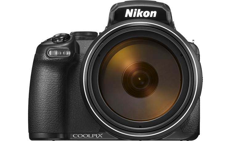 Nikon Coolpix P1000 Front, straight-on