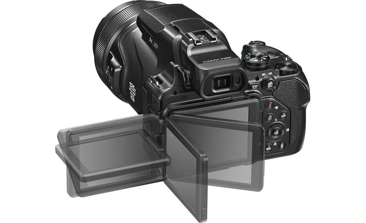 Nikon Coolpix P1000 Rotating LCD screen makes it easy to compose from any angle