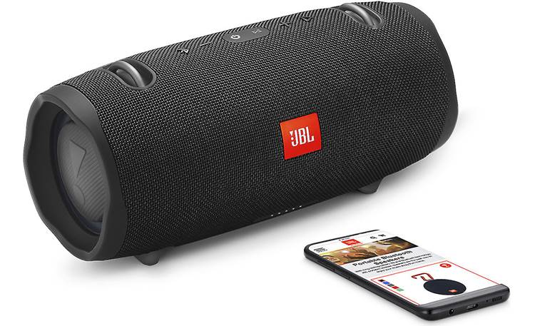 JBL Xtreme 2 Midnight Black - stream via Bluetooth (smartphone not included)
