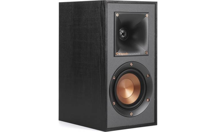 Klipsch R-610F 5.1 Home Theater Speaker System R-41M bookshelf speaker with grille removed