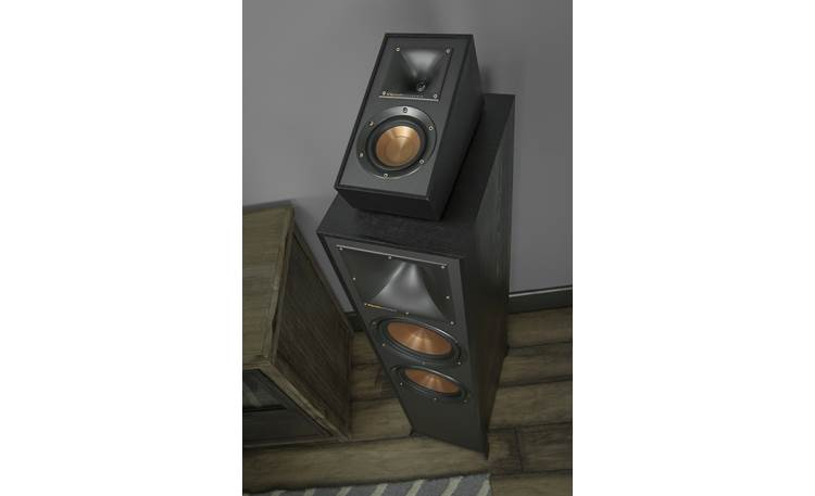 Klipsch Reference R-41SA Designed to sit on top of floor-standing speakers