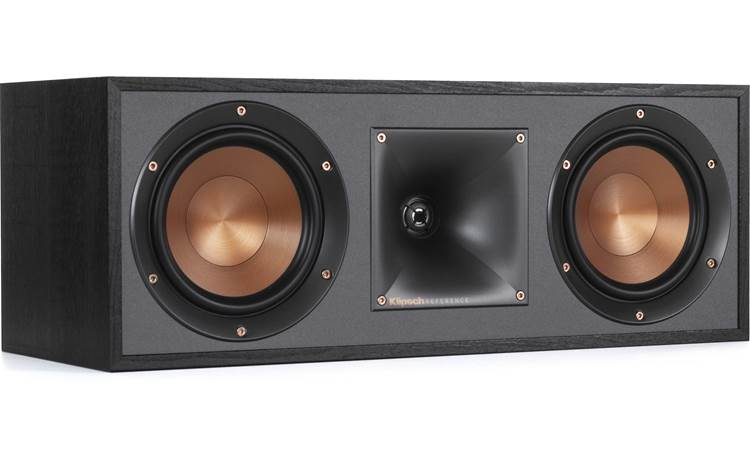 Klipsch R-610F 5.1 Home Theater Speaker System R-52C center channel speaker with grille removed