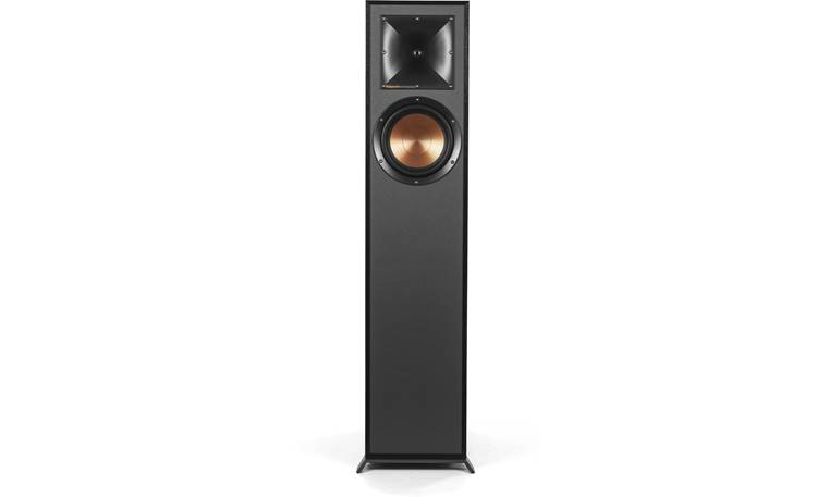 Klipsch R-610F 5.1 Home Theater Speaker System R-610F floor-standing speaker with grille removed