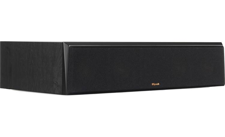 Klipsch Reference Premiere RP-404C Angled view with grille in replaced