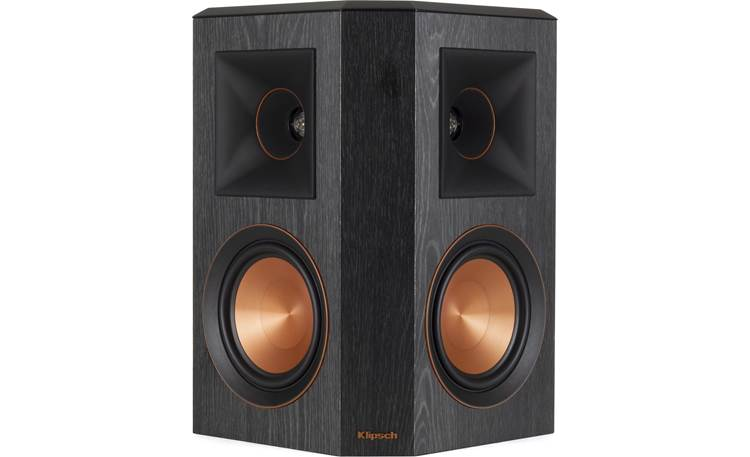 Klipsch Reference Premiere RP-502S Shown individually with grille removed (speakers sold as a pair)