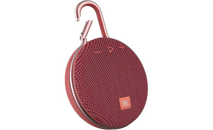 Jbl Clip 3 Fiesta Red Waterproof Portable Bluetooth Speaker At Crutchfield