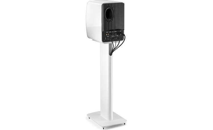 KEF Performance Speaker Stands integrated cable management allows speaker wire or cables to be hidden away (speaker not included)