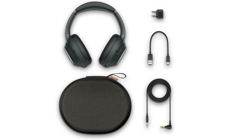 Sony WH-1000XM3 Included case and accessories