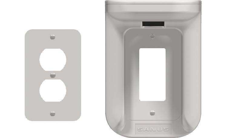 Sanus Outlet Shelf standard and Decora®-style wall plate covers included