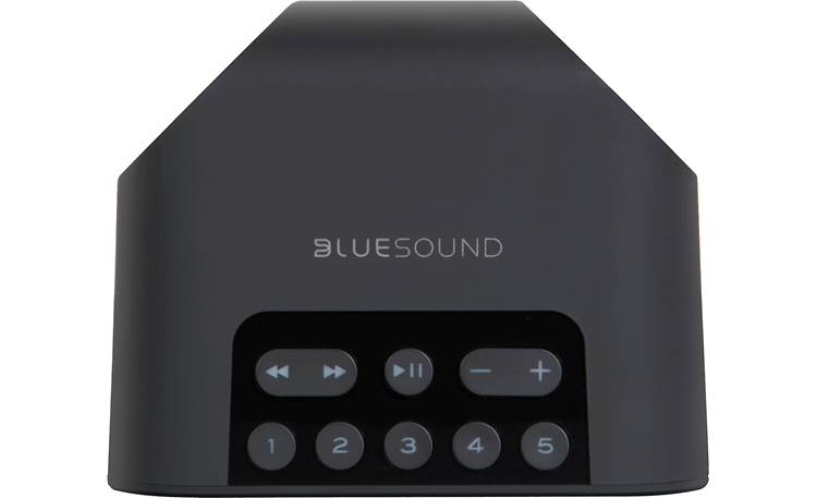 Bluesound Pulse Flex 2i Black - top-mounted control buttons